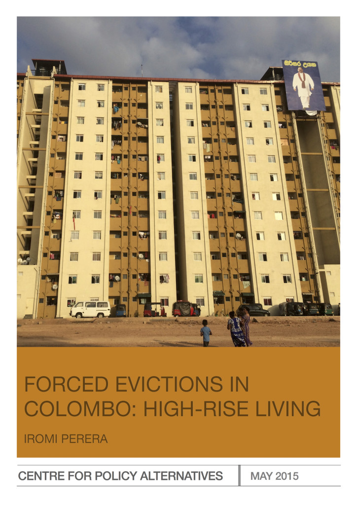 High Rise Living And Dining Room: Forced Evictions In Colombo: High-rise Living